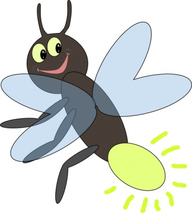 Cartoon animal clipart insects.