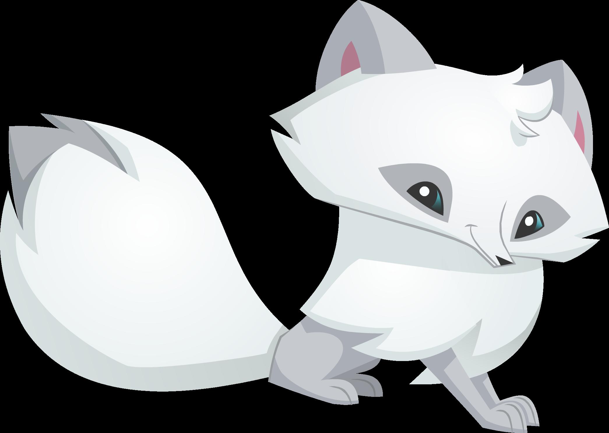 Animal Jam Arctic Fox.