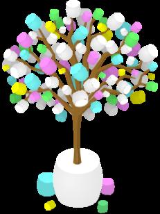 Marshmallow Tree.