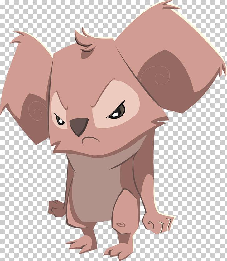 Animal Jam Koala Cat Lynx Mouse, koala PNG clipart.