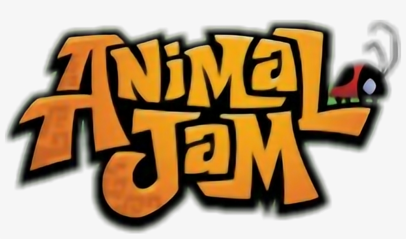 Animal Jam Logo Without Leafs.