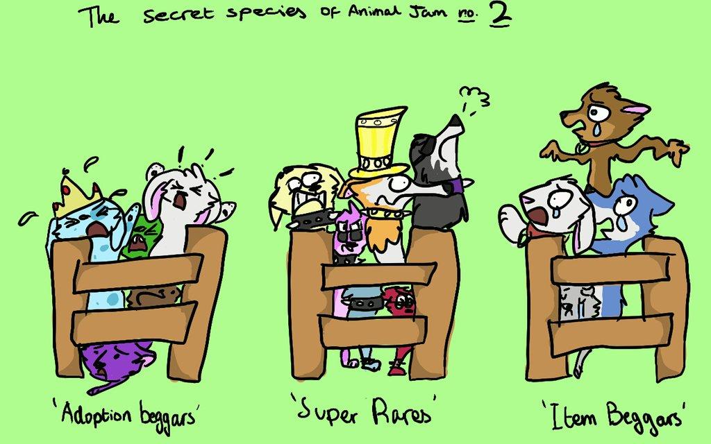 The Secret Species of Animal Jam.