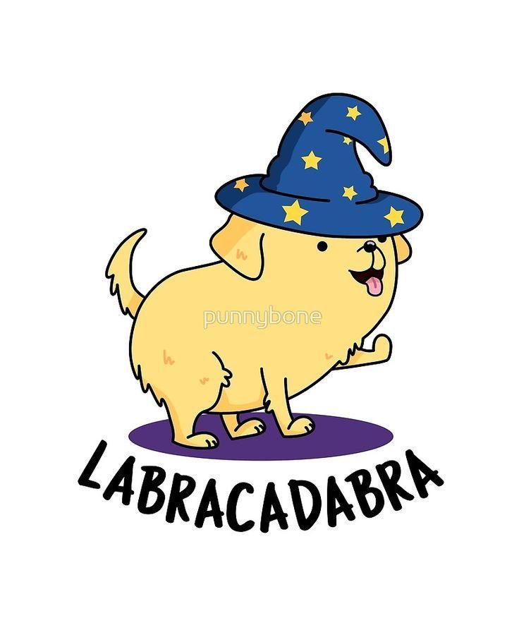 Labracadabra Dog Animal Pun\