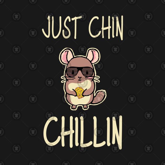 Just Chin Chillin Cute Animal Pun.