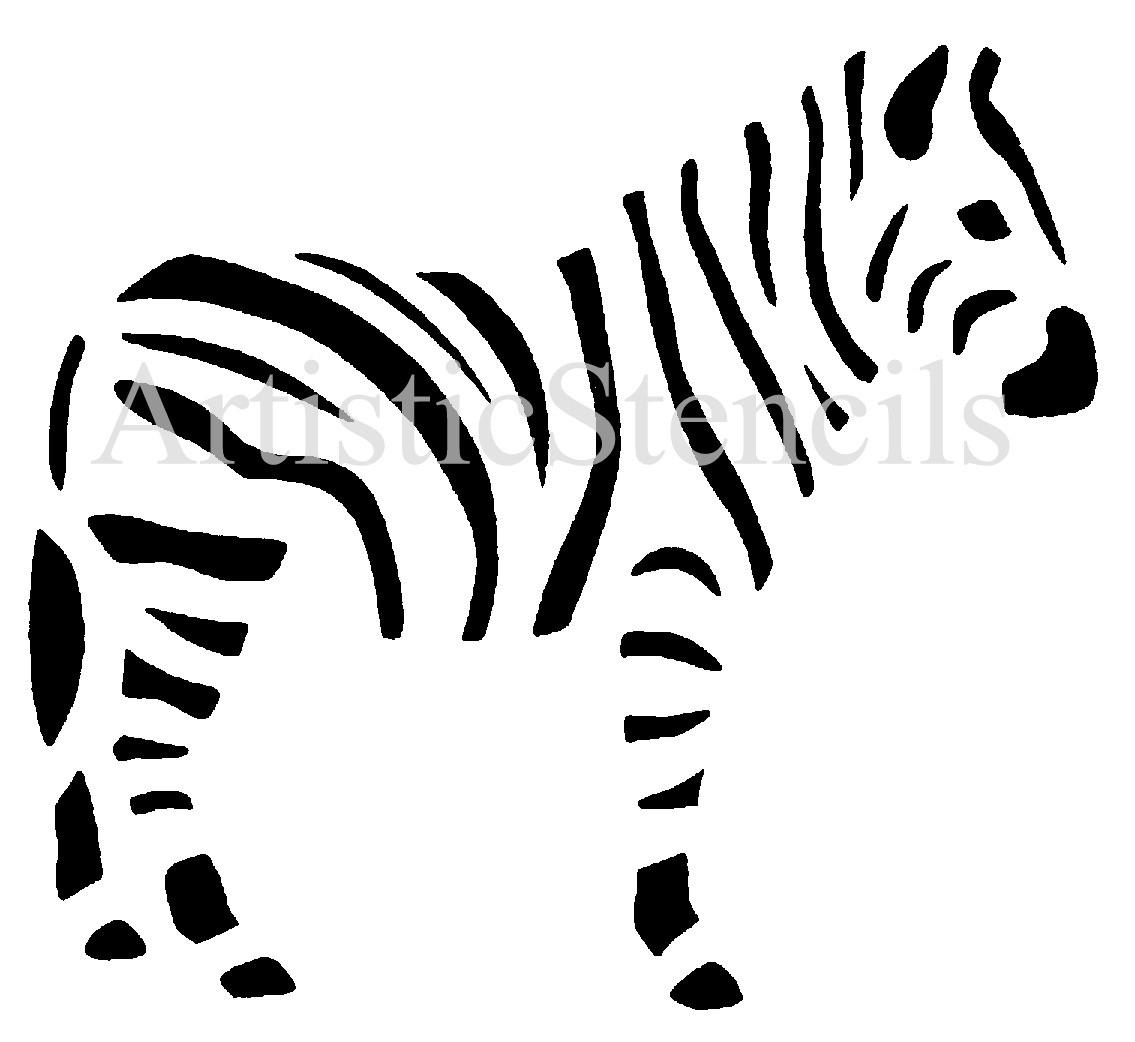 Zebra Stencil.