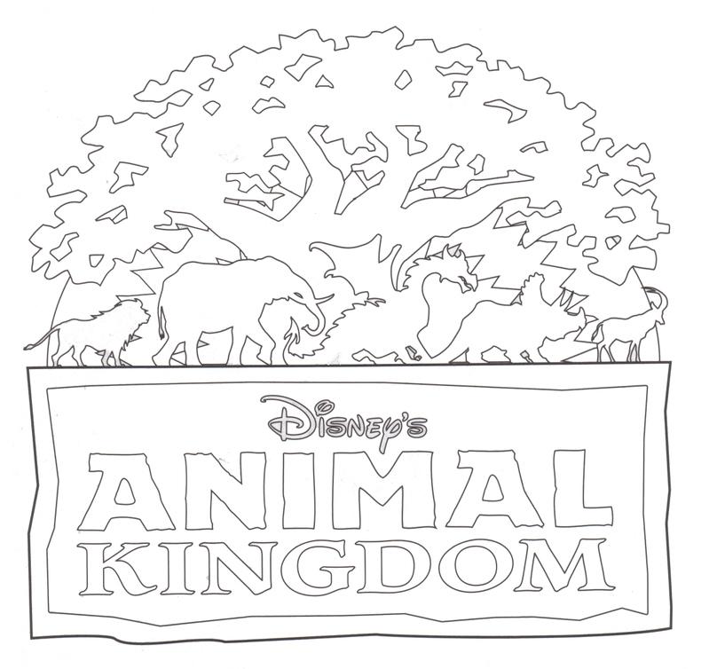 Animal Kingdom Clipart Black And White.