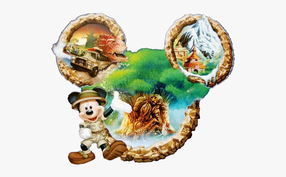 Animal Kingdom Clipart Mickey Safari.