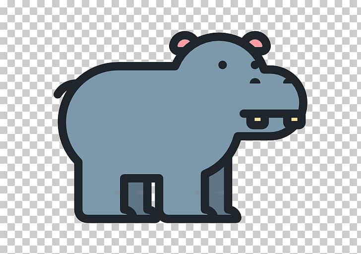 Disneys Animal Kingdom Hippopotamus Icon, hippo PNG clipart.
