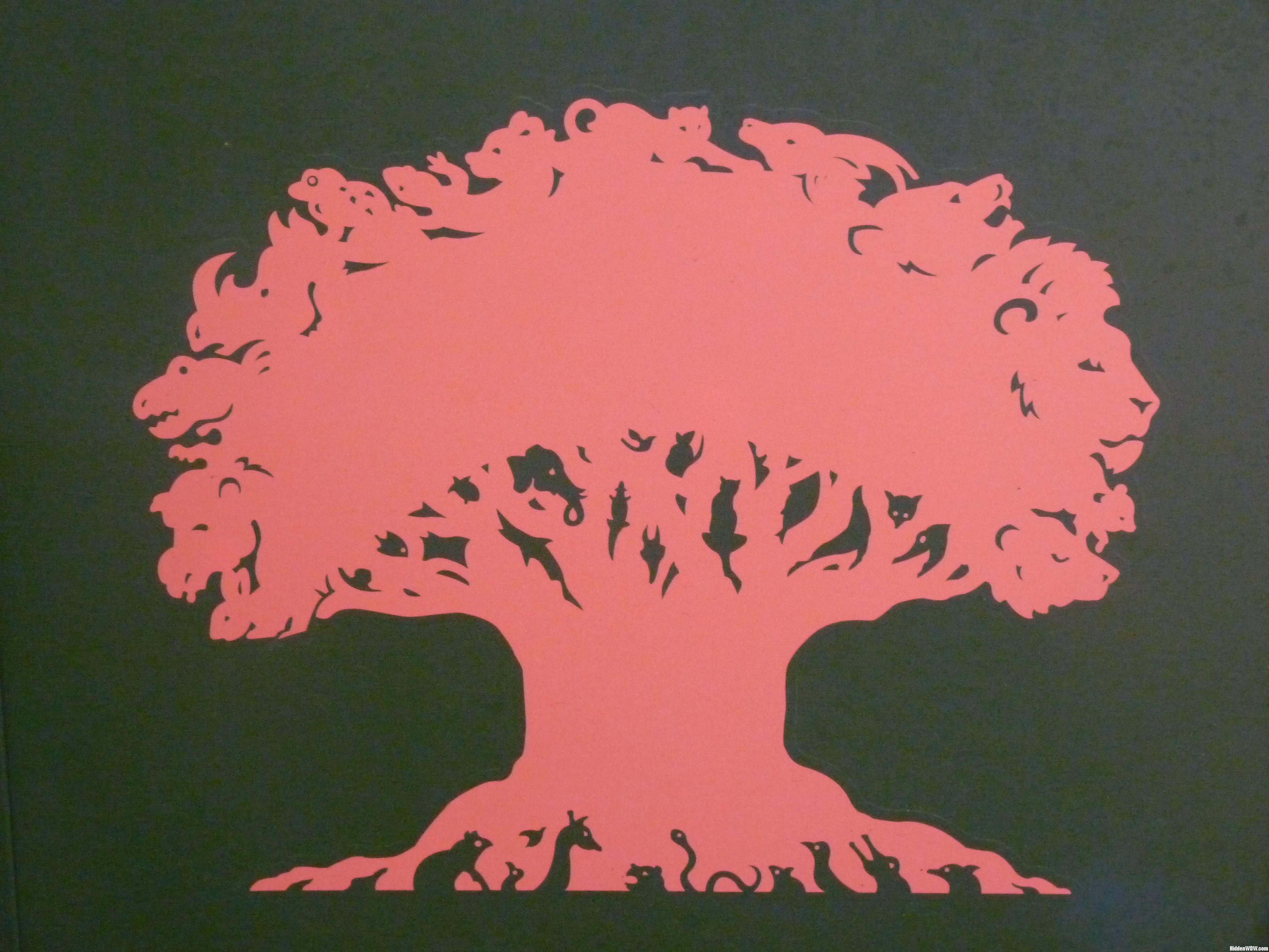 Animal Kingdom Tree Of Life Clipart.