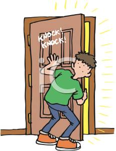 Gallery For > Animal Clipart Knocking at Door.