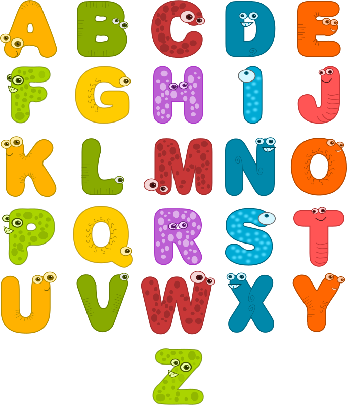 Clipart letters animal, Clipart letters animal Transparent.