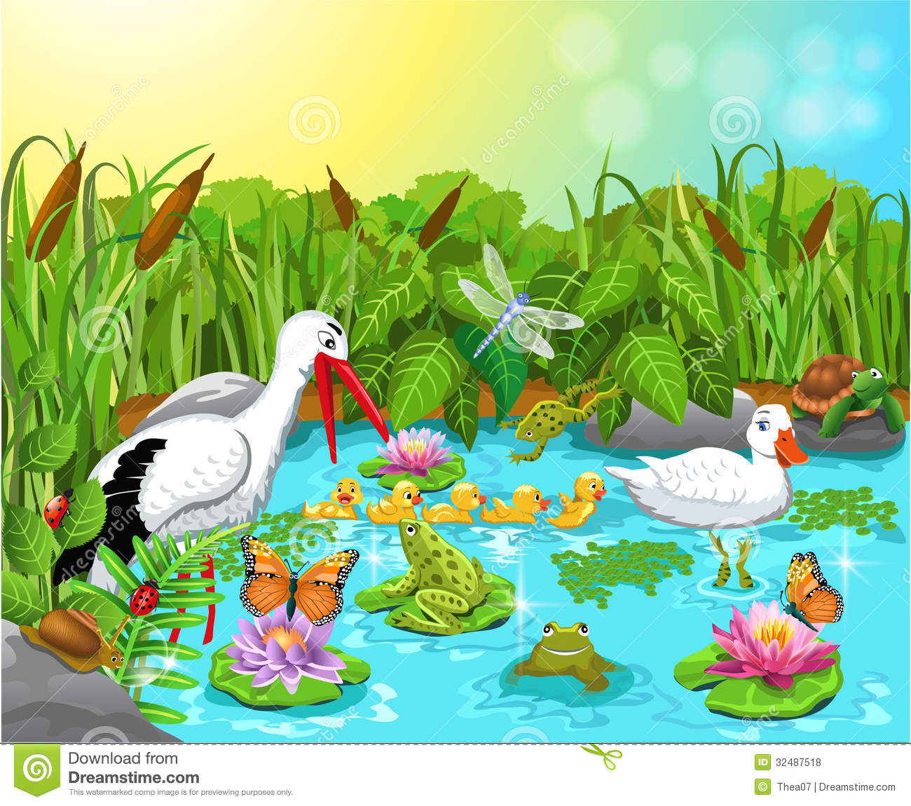 Animal Life Clipart Clipground