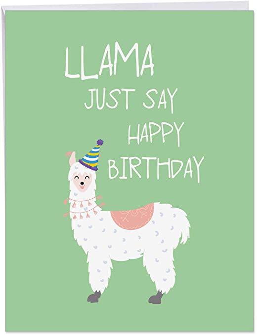 Llama Just Say.