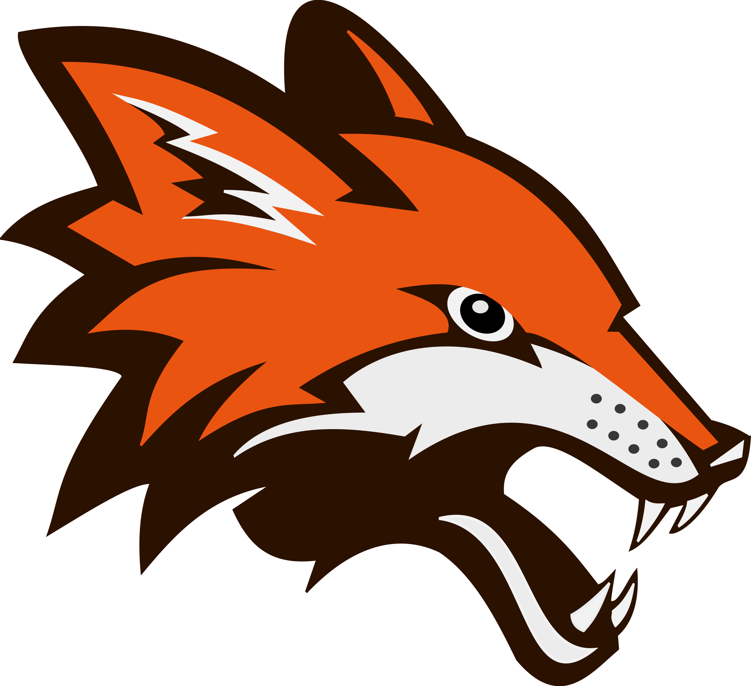 Fox Face, Animals, Logo, PNG Transparent Clipart Image Icon.