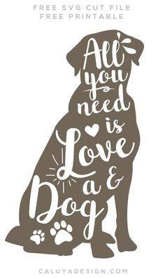 Dog Lover SVG FREE Download (SVG& PNG) By.