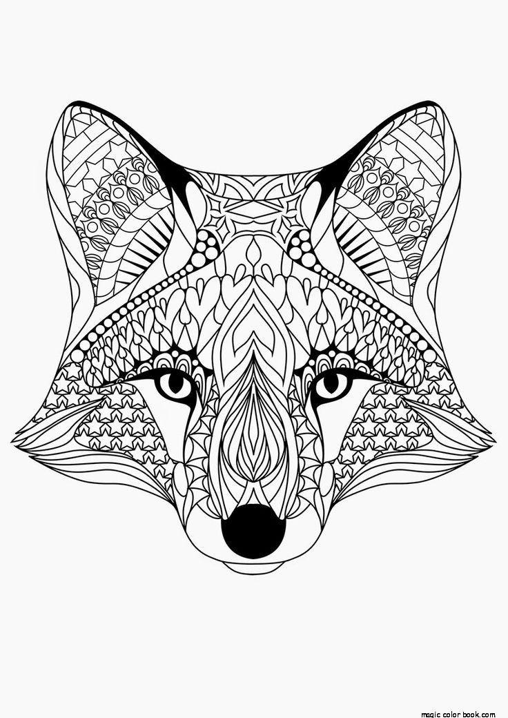Free Animal Mandala Coloring Pages Free Printable, Download.