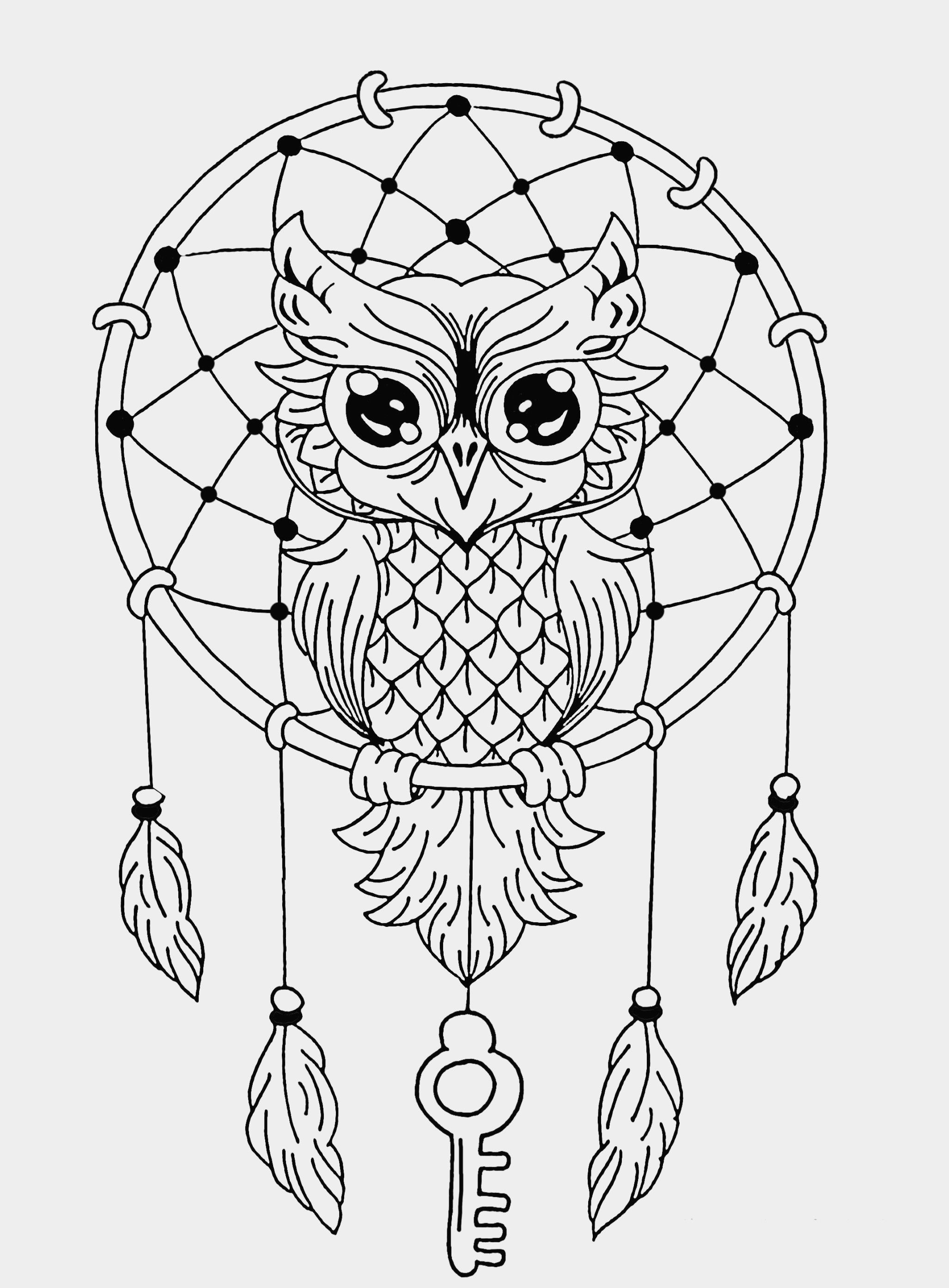 Easy Animal Mandala Coloring Pages.