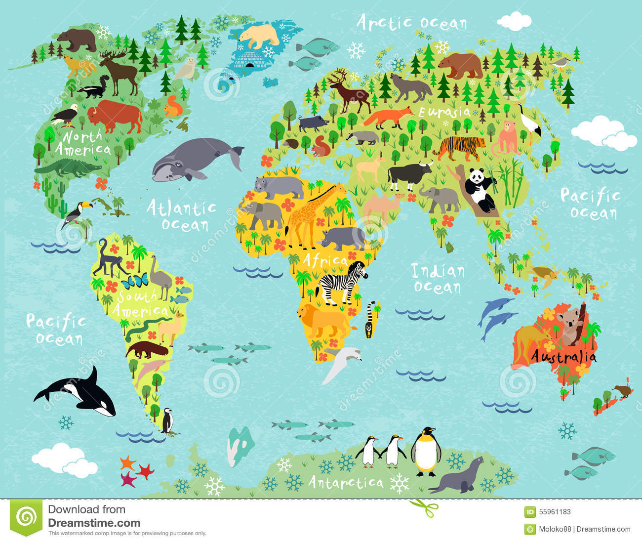 14946 Us Map free clipart.