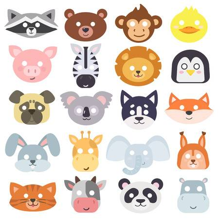22,798 Animal Mask Cliparts, Stock Vector And Royalty Free Animal.