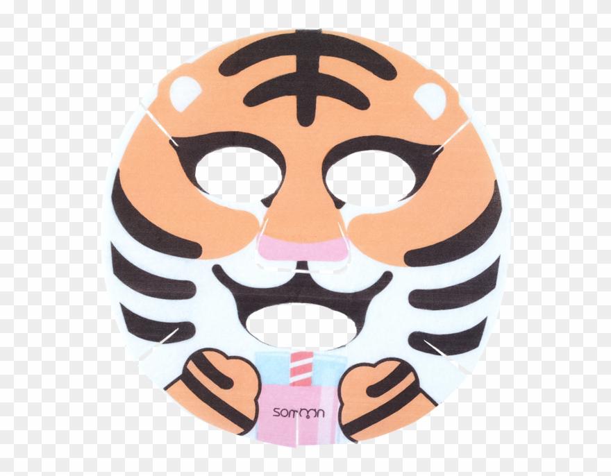 Animal Mask Tiger Clipart (#1951138).