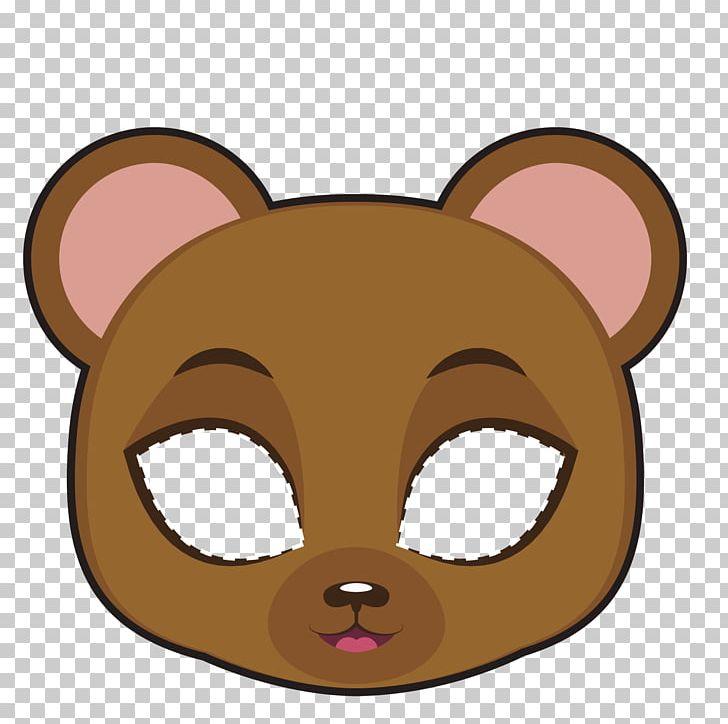 Bear Mask PNG, Clipart, Animals, Bears, Carnival Mask.