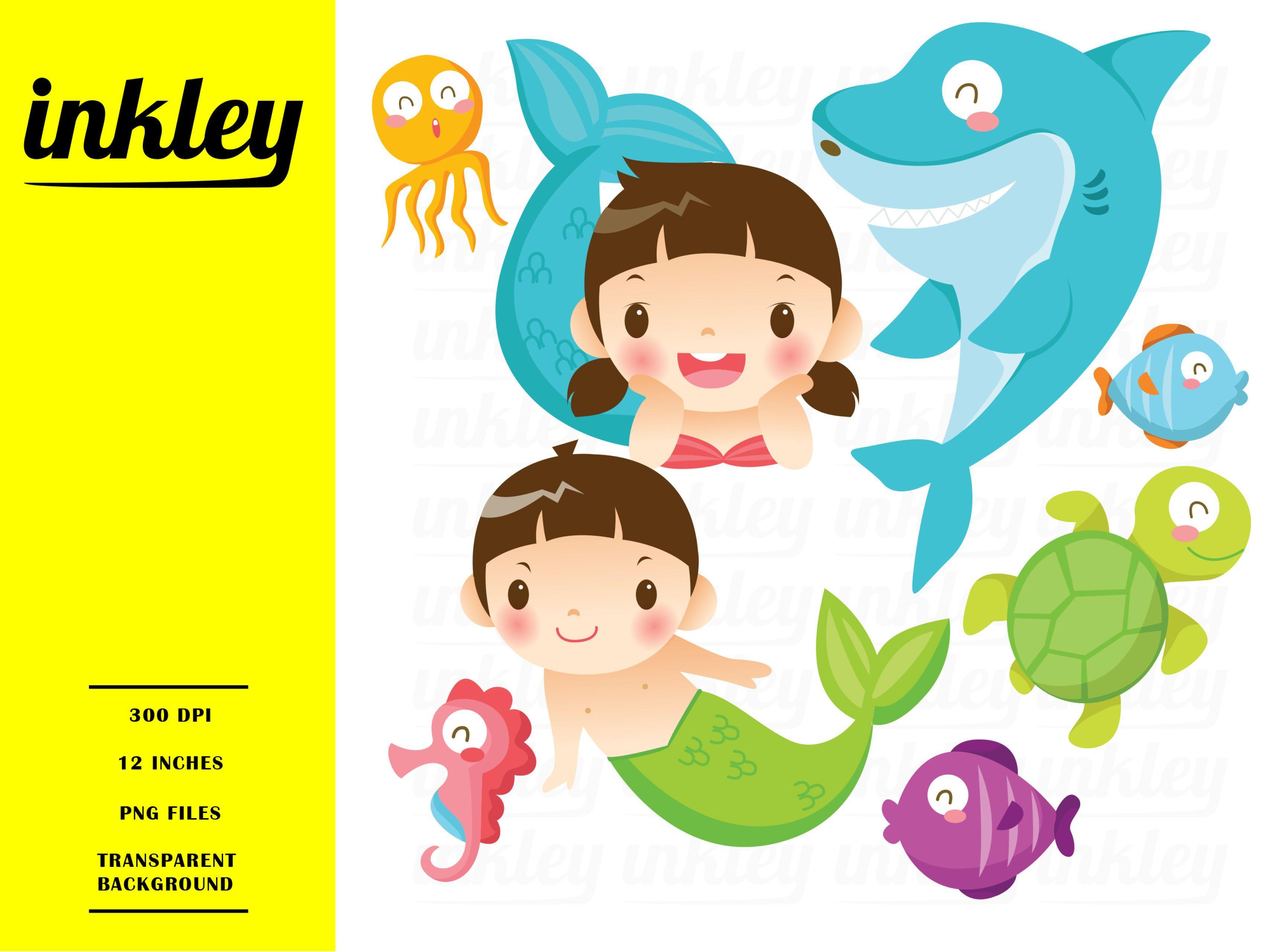 Mermaid Illustration in 2019.