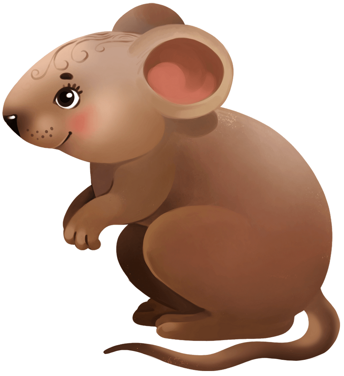 Mouse clipart. Free download..
