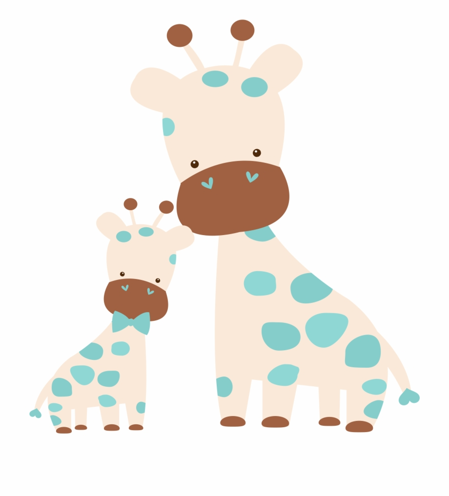 animal: Mother And Baby Animal Cartoon Pictures.