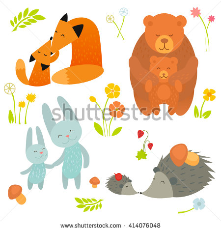 Showing post & media for Mommy and baby animals cartoons.