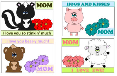 Showing post & media for Mothers day animal cartoons.