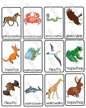 Animal Movement Unit Worksheets & Teaching Resources.