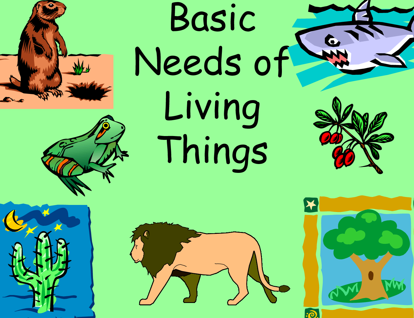 Animal needs to survive clipart Transparent pictures on F.