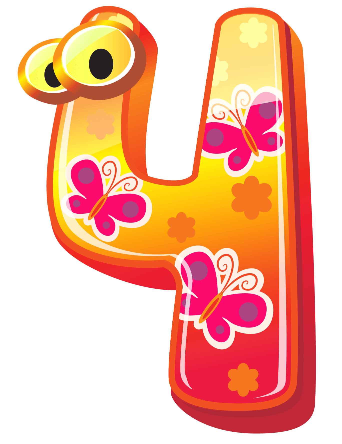 Free Cute Number 4 Cliparts, Download Free Clip Art, Free.