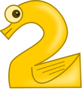 Animal Number Two Clip Art at Clker.com.