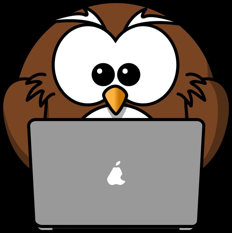 Clipart owl computer, Clipart owl computer Transparent FREE.