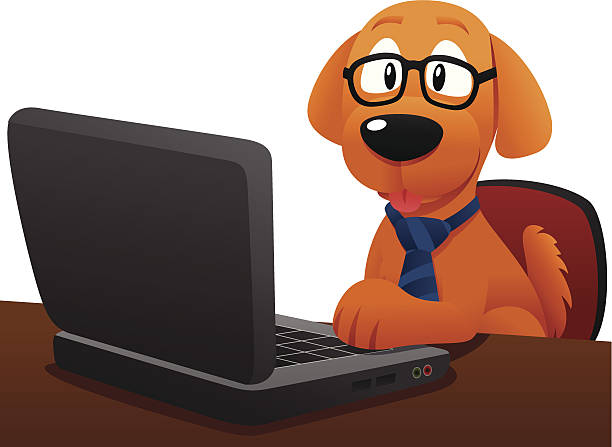 44956 Dog free clipart.