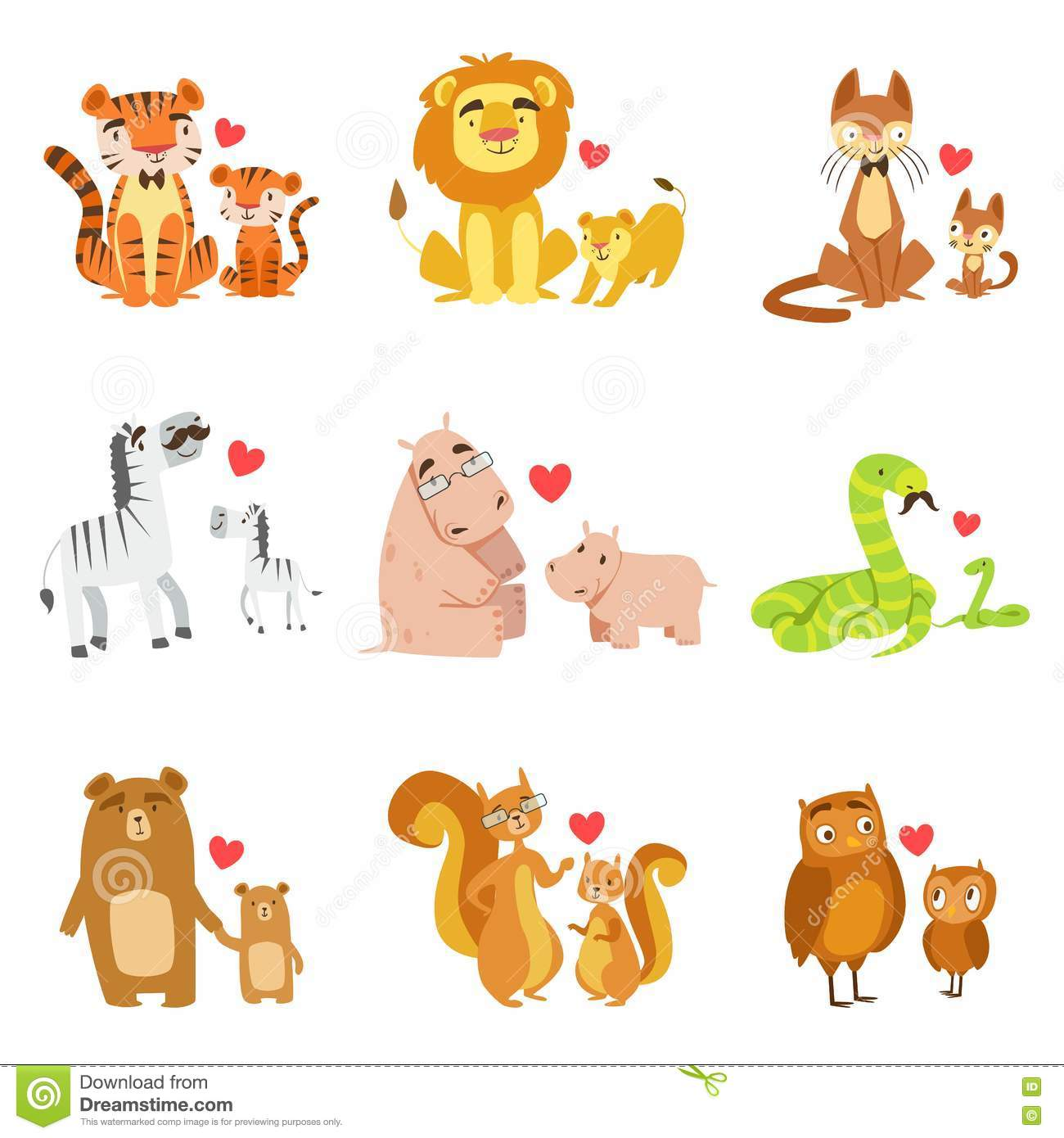 Showing post & media for Cartoon animal pairs.