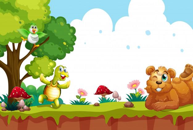 Cartoon Animals Vectors, Photos and PSD files.