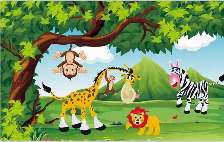 animal park wallpaper clipart #2