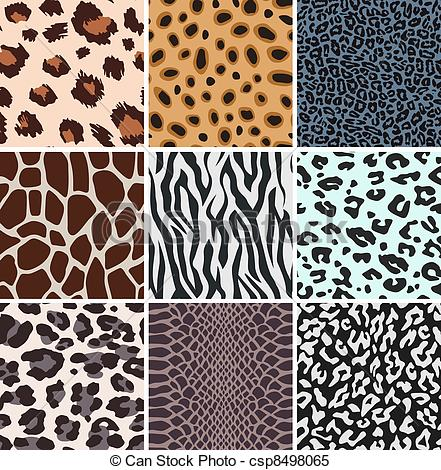 Animal pattern clipart #14