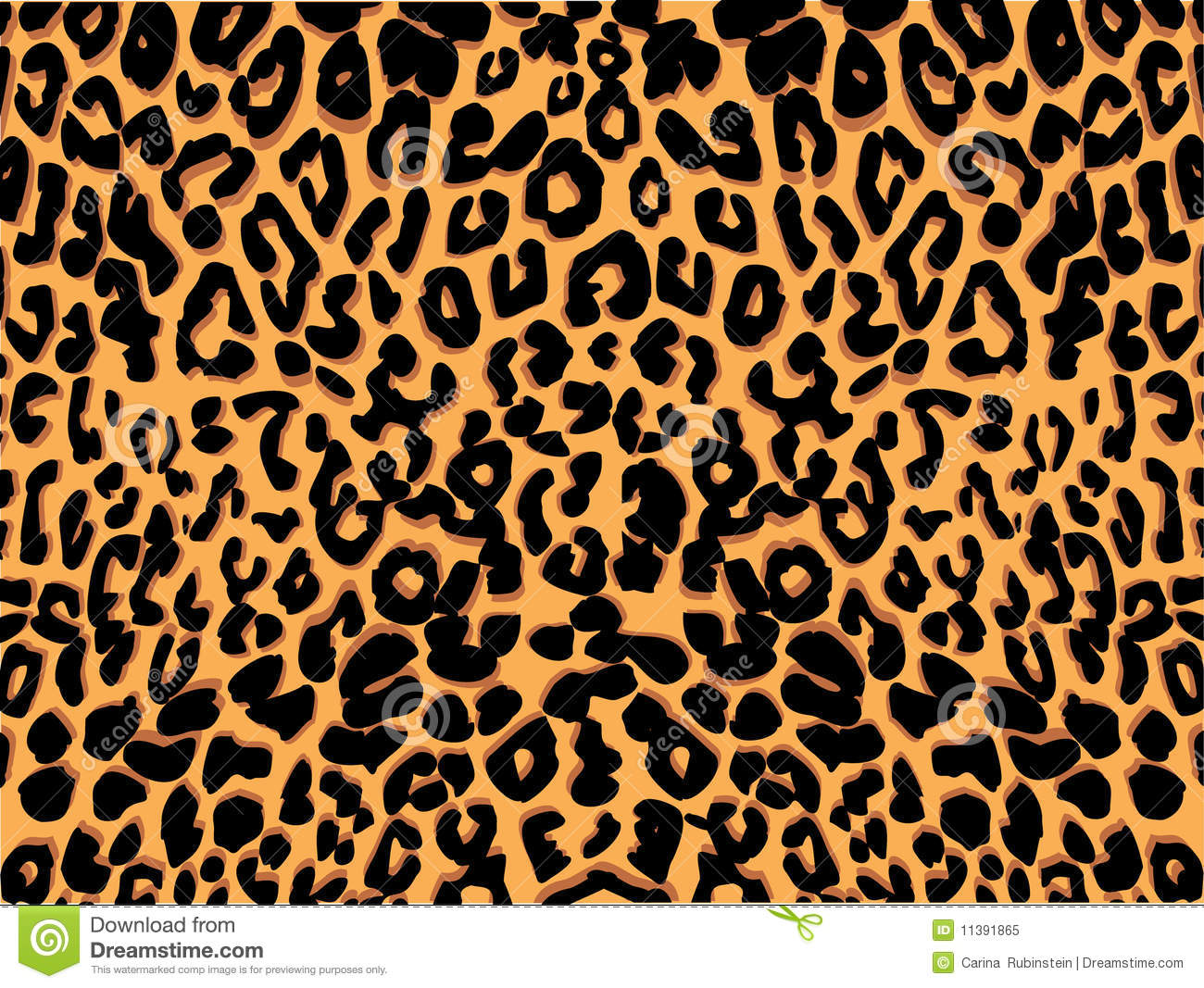 Animal print patterns clipart.