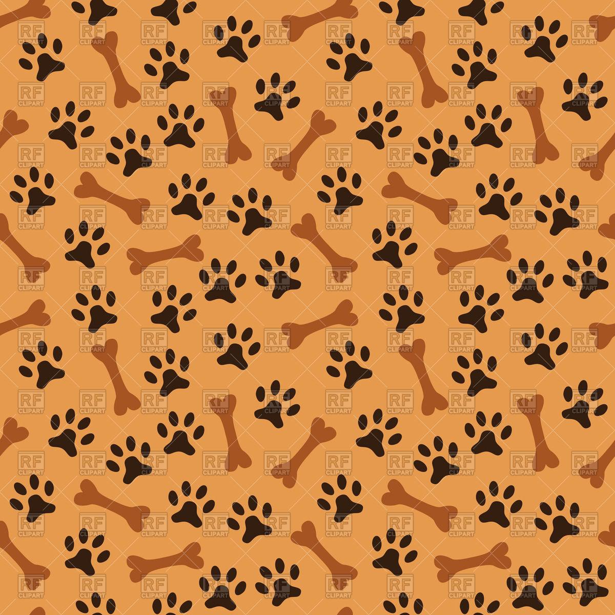 Seamless animal pattern.