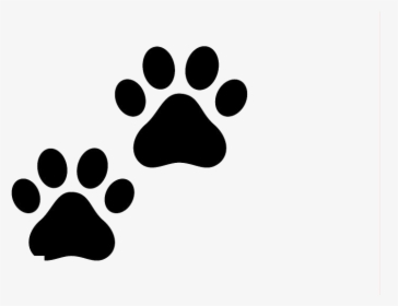 Dog Paw Prints Transparent & Png Clipart Free Download.