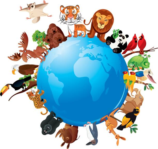 Sharing The Planet Clipart.