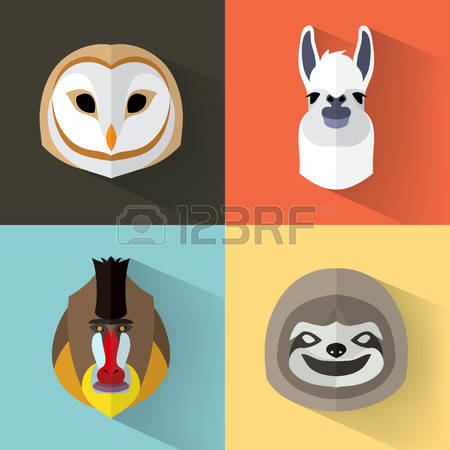 40,008 Animal Portrait Cliparts, Stock Vector And Royalty Free.