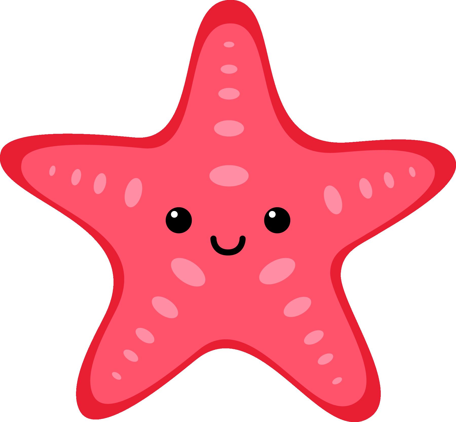 Baby sea animal clipart.