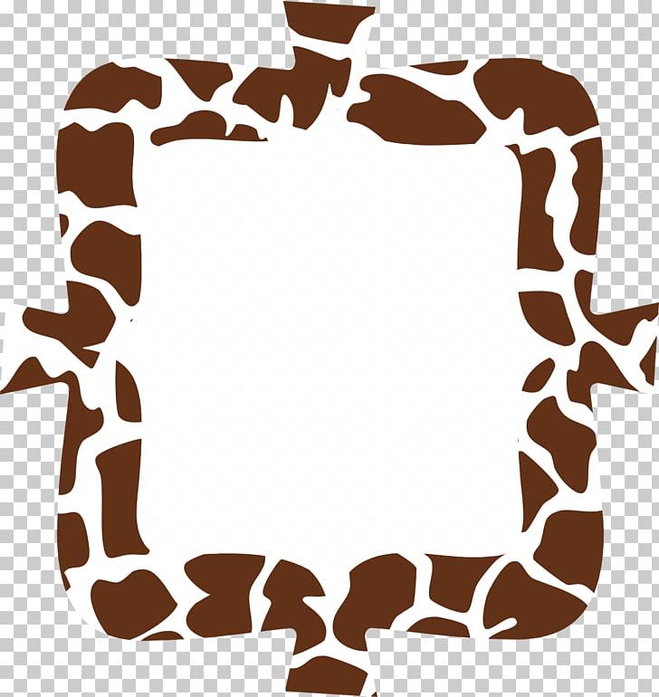 Giraffe Frames Animal print TeachersPayTeachers, watercolor.