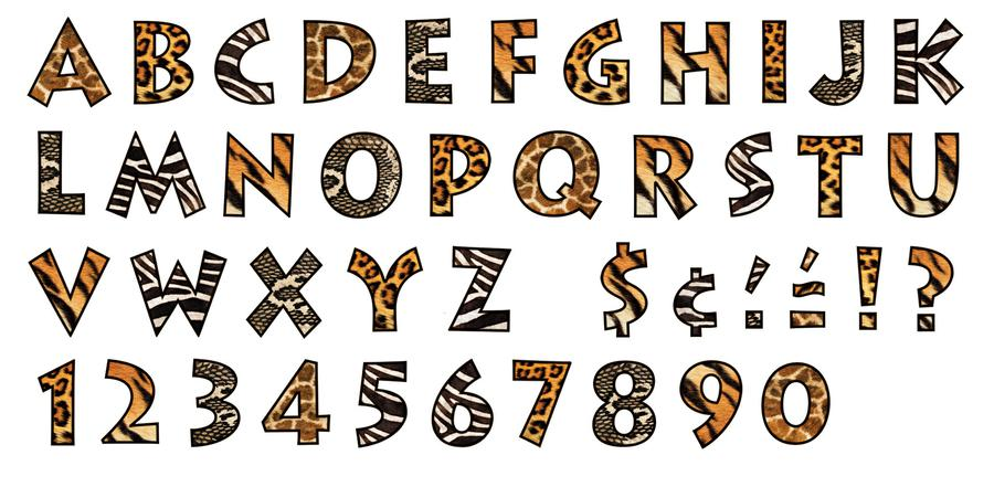 Similiar Zebra Print Font Keywords.