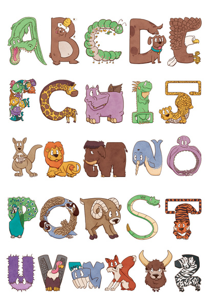 Free Animal Letter Cliparts, Download Free Clip Art, Free.