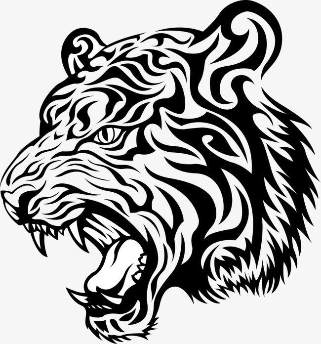 Animal Tiger Print, Tiger Clipart, Prints, Vector Printing.
